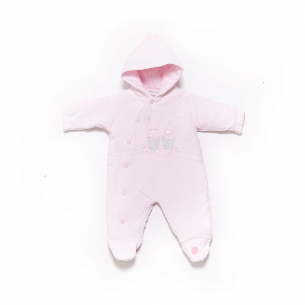 "AV2412""Too Cute Bunny  Pram Suit  (P)"